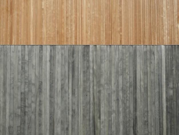 Fundo de textura de madeira marrom e cinza Foto Premium