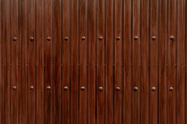 Fundo de textura de madeira rústica marrom Foto gratuita