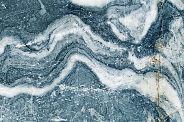 Fundo de textura de mármore azul padrão. Foto Premium
