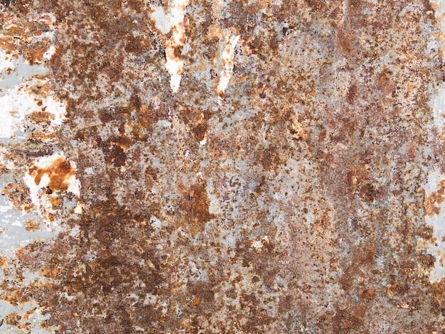 Fundo de textura de metal enferrujado desgastado escuro Foto gratuita