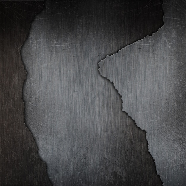 Fundo de textura de metal rachado grunge 3d Foto gratuita
