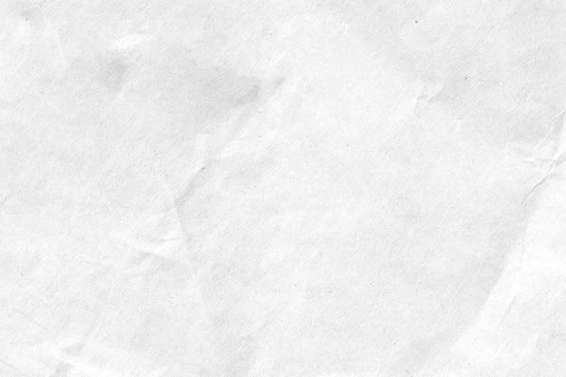 Fundo de textura de papel amassado branco. fechar-se. Foto Premium