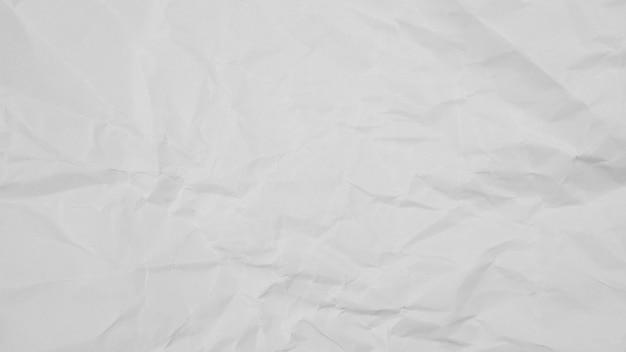 Fundo de textura de papel amassado branco Foto Premium