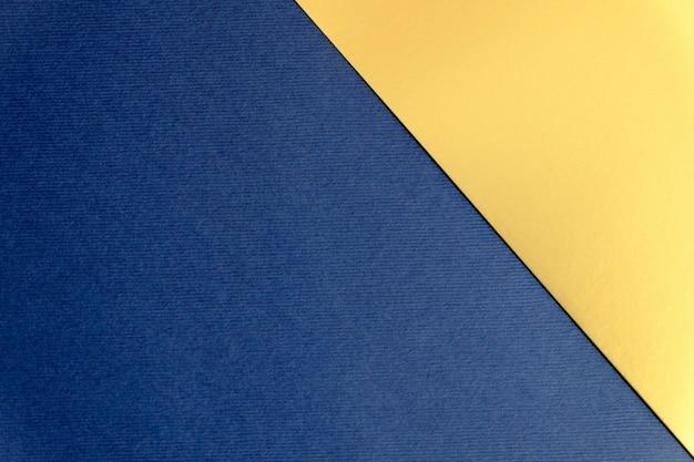Fundo de textura de papel azul marinho e dourado Foto Premium