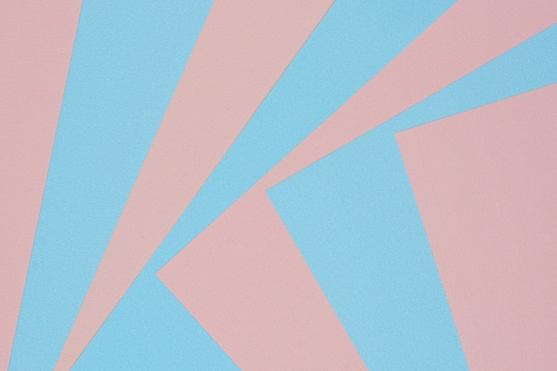 Fundo de textura de papel-de-rosa e azul Foto Premium