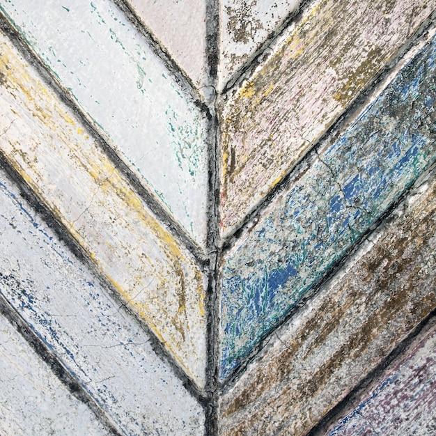 Fundo de textura de parede de concreto pintura velha rachada Foto Premium