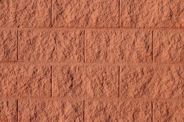Fundo de textura de parede de tijolo marrom Foto gratuita