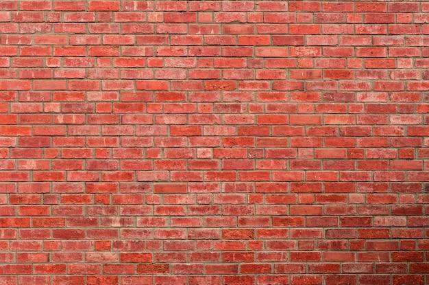 Fundo de textura de parede de tijolo vermelho Foto Premium