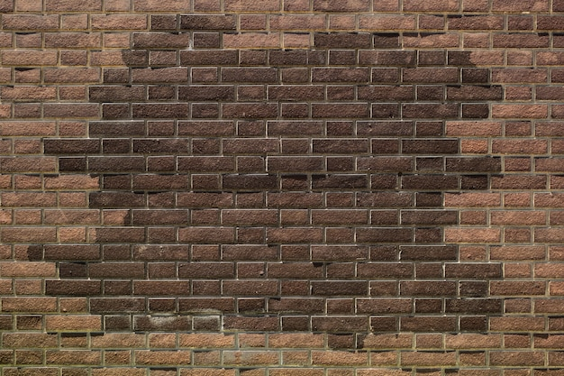 Fundo de textura de parede de tijolo Foto Premium
