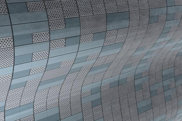 Fundo de textura de parede moderna tecnologia. Foto Premium