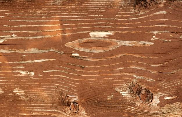Fundo de textura de superfície de madeira marrom velho Foto Premium