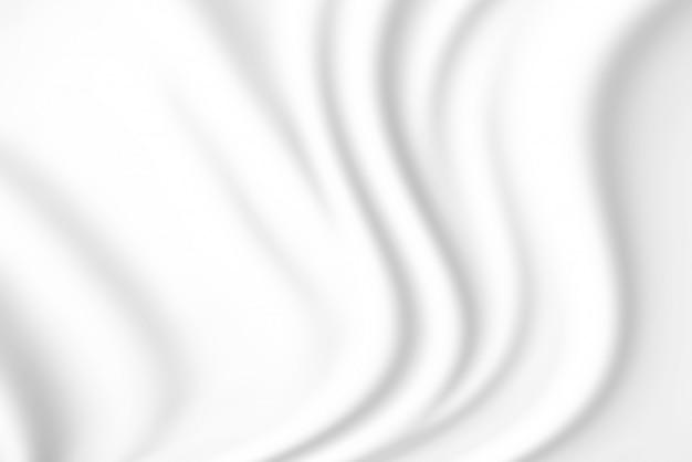 Fundo de textura de tecido branco macio. Foto Premium