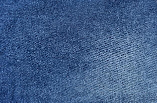 Fundo de textura de tecido de jeans Foto Premium
