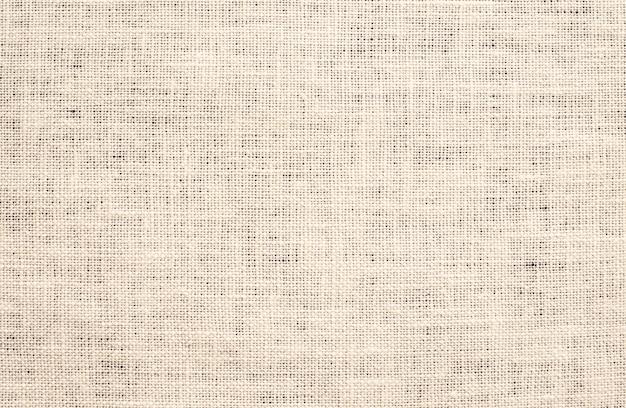 Fundo de textura de tecido de lona marrom claro Foto Premium