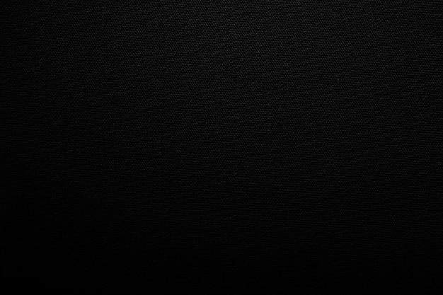 Fundo de textura de tecido de lona preta da placa de tecido de tela de lona Foto Premium
