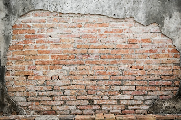 Fundo de textura de tijolo antigo Foto Premium
