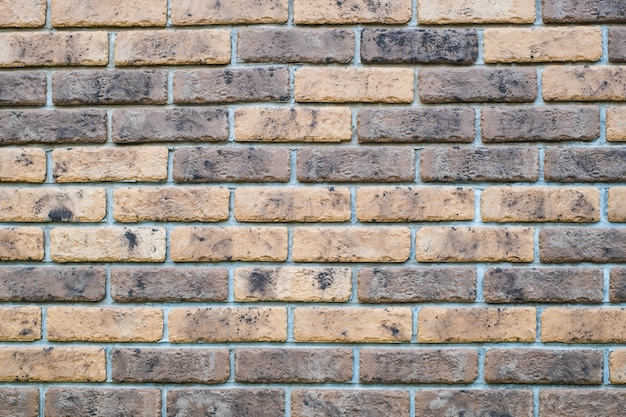 Fundo de tijolo de textura de telha de parede Foto Premium