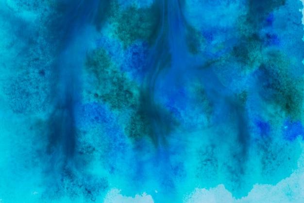 Fundo de tinta aquarela azul escuro Foto gratuita