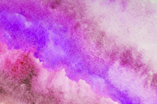 Fundo de traço abstrato aquarela respingo rosa Foto Premium