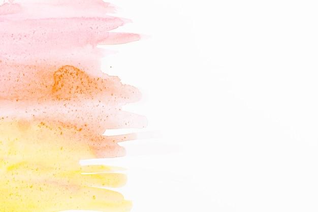 Fundo de traços de pincel aquarela abstrata Foto gratuita