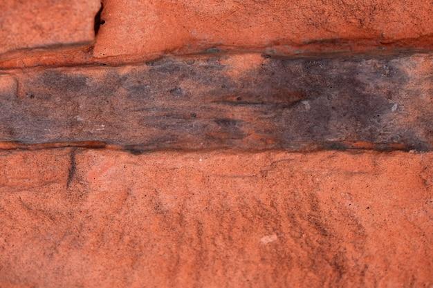 Fundo de uma parede de tijolos Foto Premium