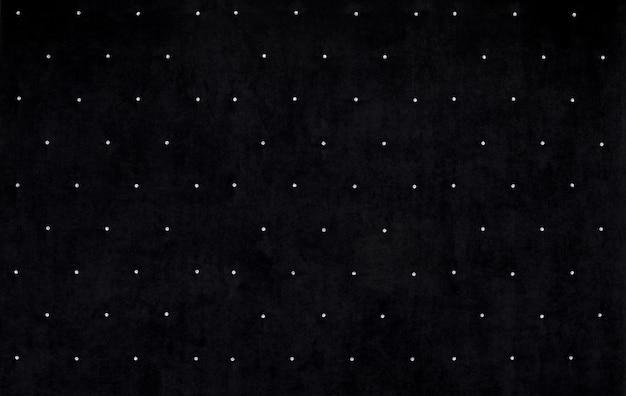 Fundo de veludo preto com cristais Foto Premium