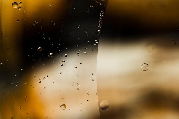 Fundo desfocado das chuvas com orvalho Foto gratuita