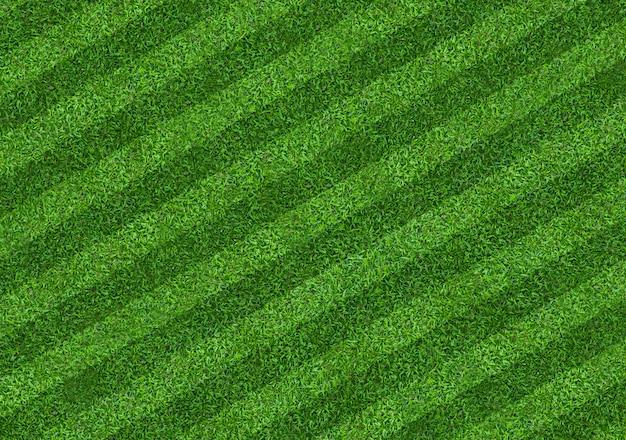 Fundo do campo de grama verde para esportes do futebol e do futebol. fundo de textura de gramado verde. fechar-se. Foto Premium