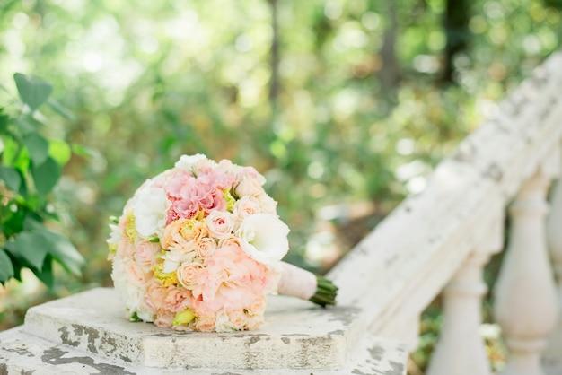 Fundo do casamento Foto Premium