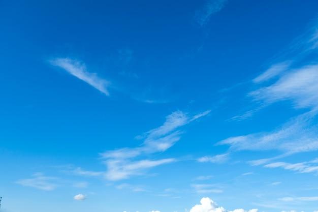 Fundo do céu azul Foto Premium