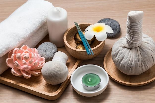 Fundo do conceito de spa. Foto Premium