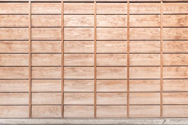 Fundo do painel de madeira Foto Premium