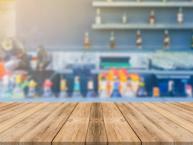 Fundo do visor de madeira superior vazia Foto gratuita