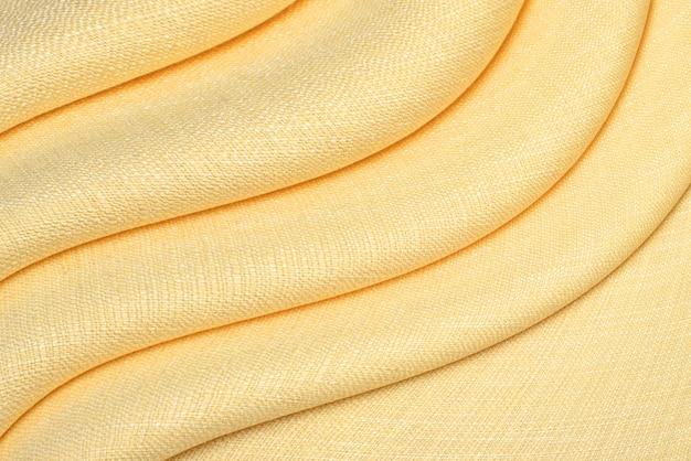 Fundo e textura de tecido amassado. Foto Premium