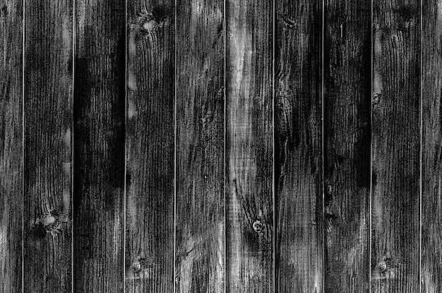 Fundo e textura do assoalho de madeira preta. Foto Premium