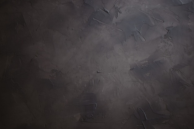 Fundo emplastrado escuro, mão feita texturizado fundo da foto Foto Premium