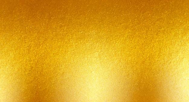 Fundo escovado metal ouro Foto Premium