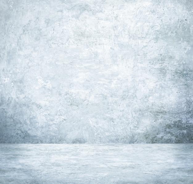 Fundo, exposição do produto, sala de cimento branco vazio, design de interiores, mock up fundo Foto Premium