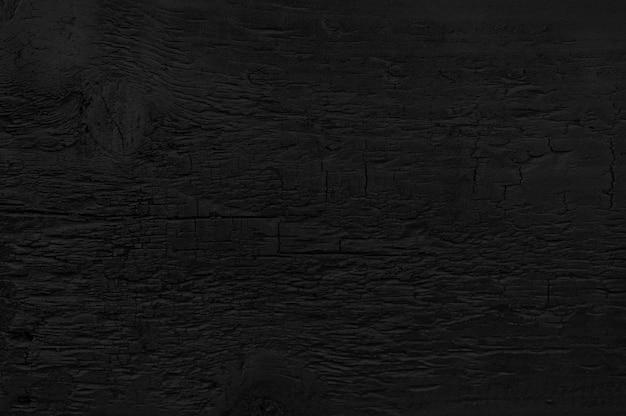 Fundo grunge textura de madeira queimada. Foto Premium