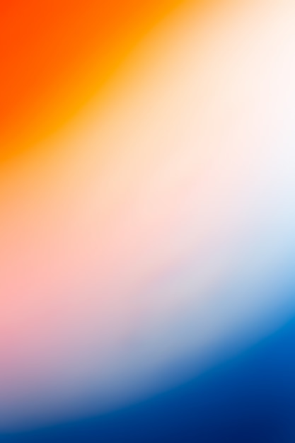 Fundo laranja e azul Foto gratuita