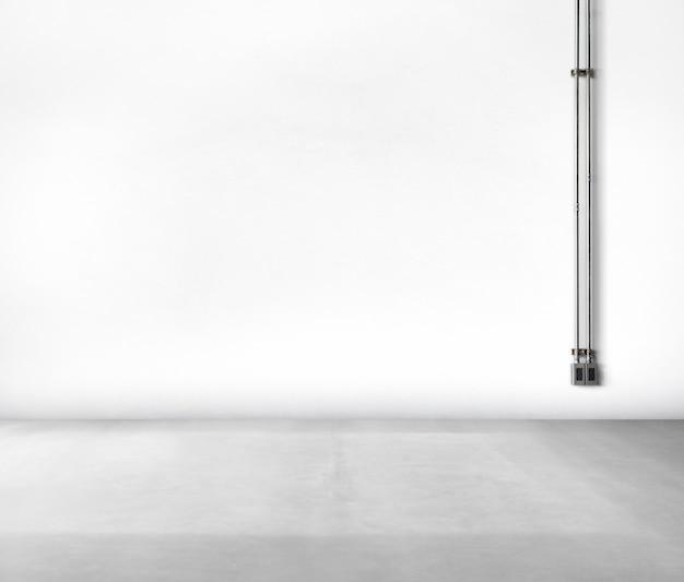 Fundo limpo de concreto branco nenhuma fonte de alimentação de pessoas Foto gratuita