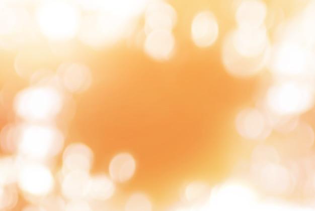 Fundo macio laranja com bokeh natural Foto Premium