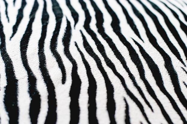 Fundo preto e branco de zebra Foto Premium