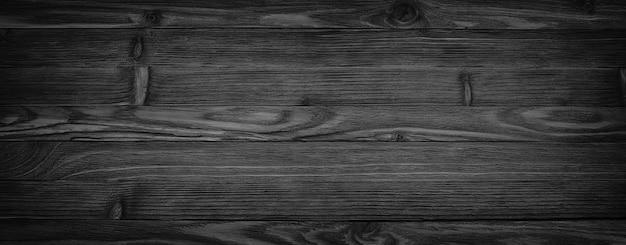 Fundo preto textura de madeira envelhecida fundo transparente, mesa de madeira escura Foto Premium