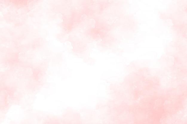 Fundo rosa aquarela abstrata Foto Premium
