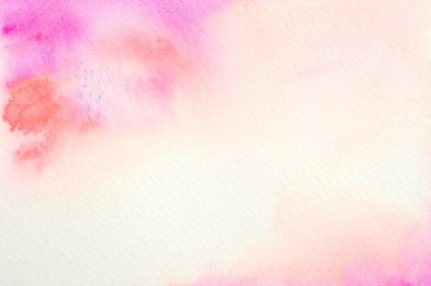 Fundo rosa aquarela Foto Premium