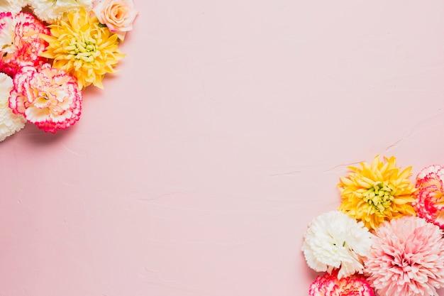 Fundo rosa com espaço de cópia Foto gratuita