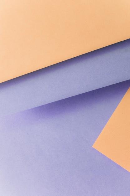 Fundo roxo e marrom para projetar o banner Foto gratuita