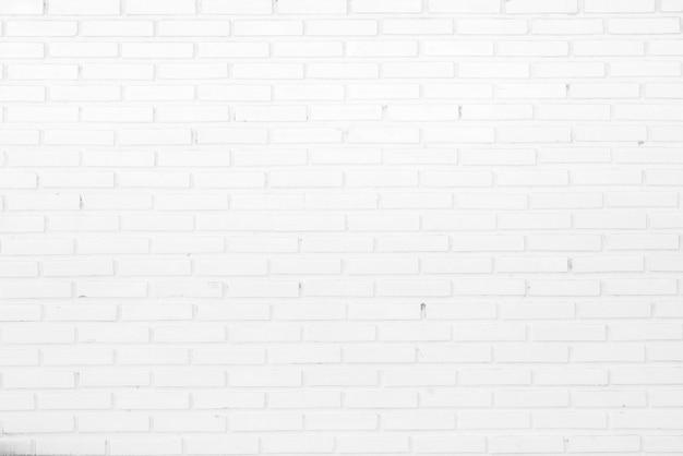 Fundo textured branco abstrato da parede de tijolo. Foto Premium