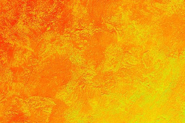 Fundo texturizado abstrato laranja e amarelo Foto Premium